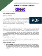 Apostila de Enfermagem - APOSTILA TRATAMENTO DE FERIDAS, CICATRIZAÇÃO E CURATIVOS