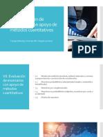 CD VII. Metodos Cuantitativos