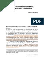 O Poder Constituinte do Povo no Brasil - Gilberto Bercovici