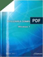 Utilizarea Computerului - Windows 7