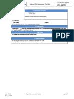 S9QC29 Airport Risk Assessment Checklist (1) Copy