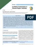 Assessment of Heavy Metals Contamination in Drinking Water of Garmian Region, Kurdistan, Iraq.pdf