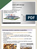 Solar powered cold storage-SWETHA .R 2018001108.pptx