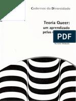 MISKOLCI, Richard .Teoria Queer um aprendizado pelas diferenças(2012)