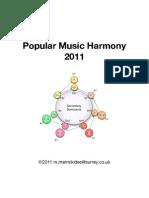 Popular Music Harmony Booklet