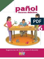 libro del maestro 6 español siglo 21