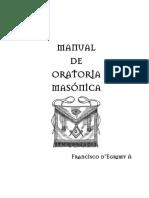 Manual de Oratoria Masonica