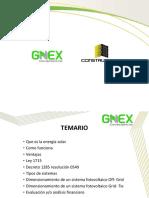 Energía fotovoltáica GNEX