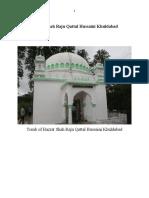 Hazrat Shah Raju Qattal Hussaini Khuldabad