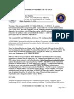 Dhs FBI Terrorist Aircon