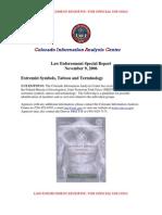 FBI Extremist Symbols 2006
