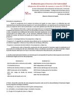 Historia de Espana COVID 19