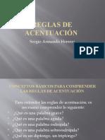 REGLAS DE ACENTUACIÓN