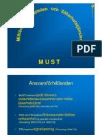 Sweden Militarty Intelligence Service 2009