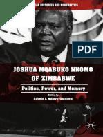 Joshua Mqabuko Nkomo of Zimbabwe politics, power, and memory ( PDFDrive.com )