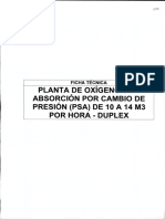 Anexo 3 - 6 FICHA TECNICA_Planta de Generacion de Oxigeno PSA de 10 a 14 m3 por hora - DUPLEX
