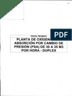 Anexo 5 - 8 FICHA TECNICA_Planta de Generacion de Oxigeno PSA de 30 a 35 m3 por hora - DUPLEX