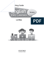 English for Early Learners Nursery Teaching Guide