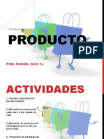 Presentacion tipos de Productos MIGUEL DIAZ