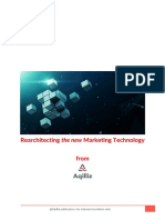 Rearchitecting the new Marketing Technology