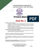Primero Guía  No. 2