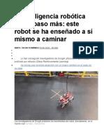 Inteligencia robotica
