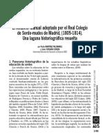 Martinez y Vergara (2016) El alfabeto manual adoptado Real colegio sordo mudos Madrid (1805-1814)