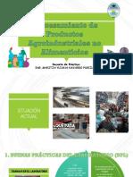 Procesamiento de productos agroindustriales no alimentos - Prácticas