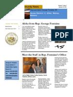 Newsletter Vol 1 Issue 1