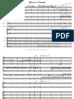 Barocco Concert-Partitura