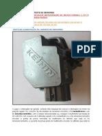 Guia prático de testes da unidade de sensores (André Silva )