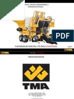 Manual TMA Plantadora de cana PTX 7010 aut