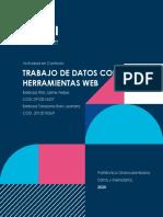 Actividad en Contexto - Trabajo de datos con herramientas web