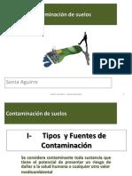 Clase 2A Tipos de contaminantes