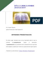 QUE ENSEÑA LA BIBLIA SOBRE LA PREDESTINACION ipuc
