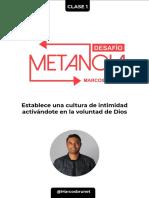 CLASE 1 - Tarea Desafio Metanoia