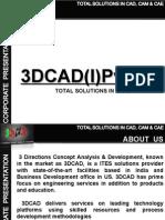 3DCAD Corporate Presentation