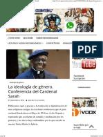 La ideología de género. Conferencia del Cardenal Sarah.pdf