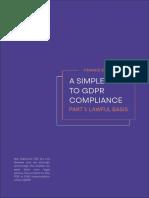 Metomic GDPR Summary - Finance