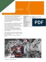 ficha tecnica Narrow vein drill