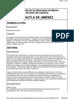 Enciclopedia de municipios de México (2005) Huautla de Jiménez