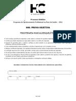 Aprimoramento Fisioterapia Musculoesquelética HCFMUSP 2015