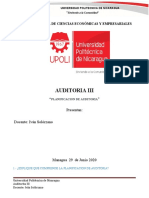 Auditoria III PLANIFICACION
