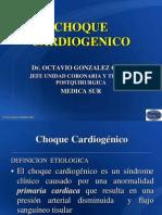 Choque Cardiogénico Urg