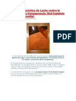 Guía práctica de lucha contra la corrupción y el fomento de la transparencia