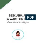 DESCUBRA AS PALAVRAS OCULTAS