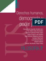 Derechos humanos, democracia y poder judicial. Oscar Agudelo ED.
