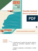 Coesão textual (lexical e gramatical)