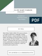 Teoría de Mary Parker Follet