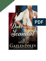Duke Of Scandal - 01 Moonlight Square - Gaelen Foley Español